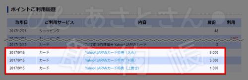 【Yahoo!】Yahoo!JAPANカード分振り込まれました!-min